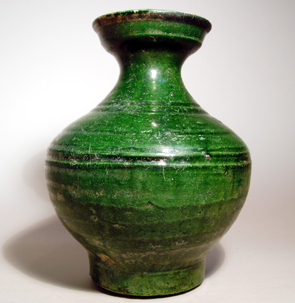 Green Glazed Jar, Han Dynasty