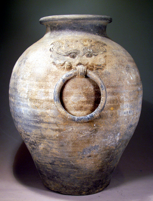 Museum Quality Pottery Jar, Han Dynasty